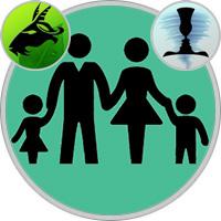 Gemini Child  — Capricorn Parent