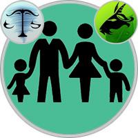 Capricorn Child  — Libra Parent