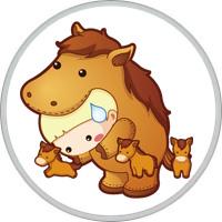 Ребенок Лошадь