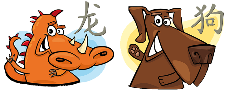 Dragon and Dog Compatibility Horoscope
