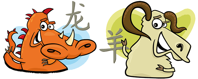 Dragon and Goat Compatibility Horoscope