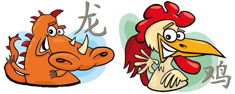 Dragon and Rooster Compatibility Horoscope