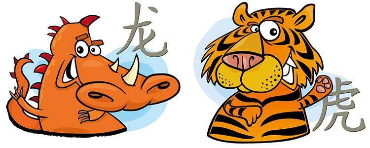 Dragon and Tiger Compatibility Horoscope