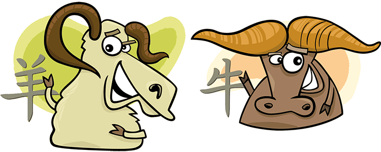Goat and Ox Compatibility