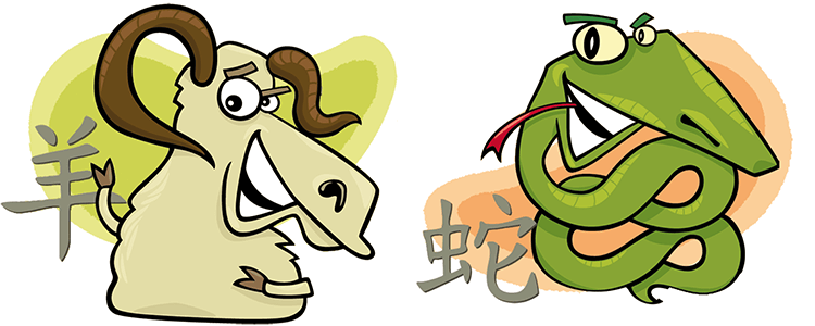 Goat and Snake Compatibility Horoscope