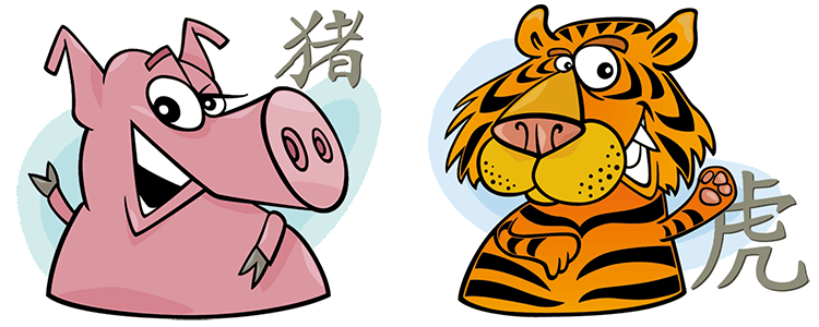 pig and tiger relationship
