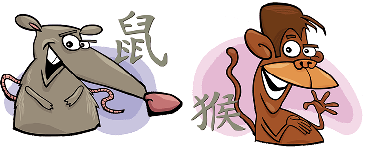 Rat and Monkey Compatibility Horoscope