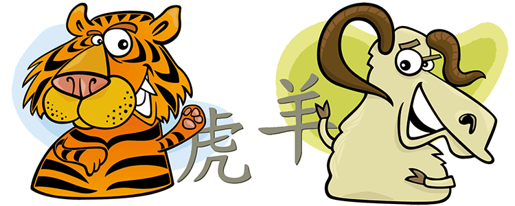 Tiger and Goat Compatibility Horoscope