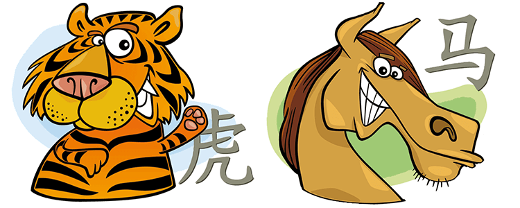 Tiger and Horse Compatibility Horoscope