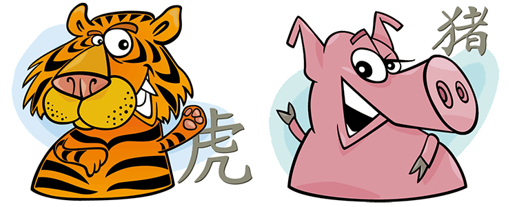Tiger and Pig Compatibility Horoscope