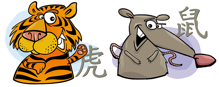 Tiger and Rat Compatibility Horoscope
