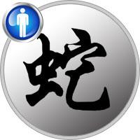 Snake Man - Chinese Zodiac