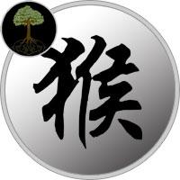 2004 Chinese Zodiac - Wood Monkey Year