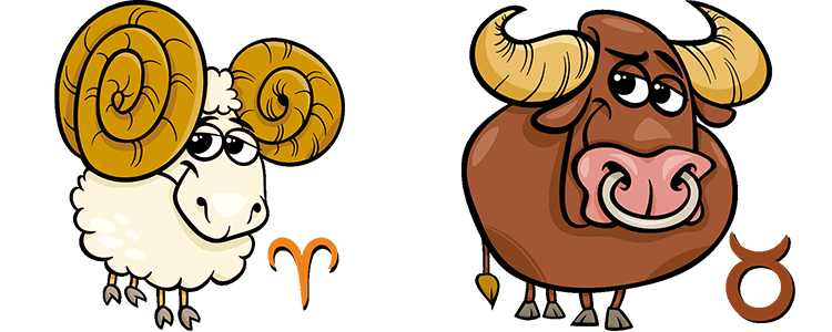 Aries and Taurus Compatibility