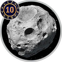 Asteroids in 10th House