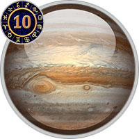 Jupiter in 10th House