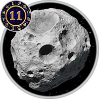 Asteroids in 11th House