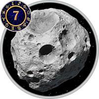 Астероиды в 7 Доме
