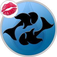Pisces Kissing