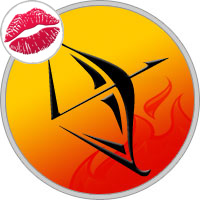 Sagittarius Kissing