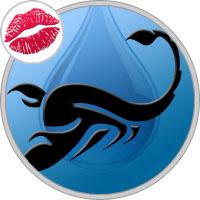 Scorpio Kissing