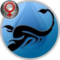 Луна в Скорпионе у Женщины