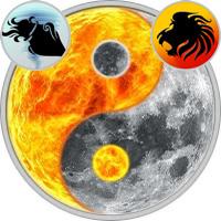 Sun in Aquarius — Moon in Leo