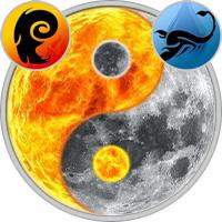 Sun in Aries — Moon in Scorpio