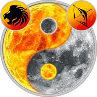 Sun in Leo — Moon in Sagittarius