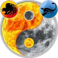 Sun in Leo — Moon in Scorpio