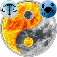 Sun in Libra — Moon in Cancer