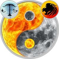 Sun in Libra — Moon in Leo