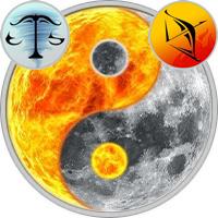Sun in Libra — Moon in Sagittarius