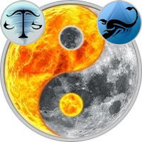 Sun in Libra — Moon in Scorpio
