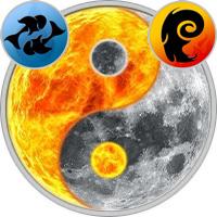 Sun in Pisces — Moon in Aries