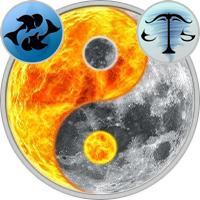 Sun in Pisces — Moon in Libra
