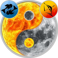 Sun in Pisces — Moon in Sagittarius