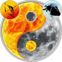 Sun in Sagittarius — Moon in Aquarius