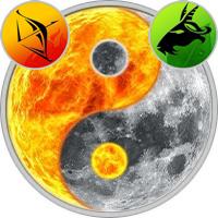 Sun in Sagittarius — Moon in Capricorn