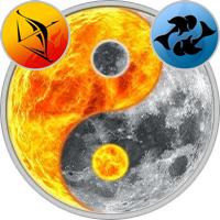 Sun in Sagittarius — Moon in Pisces